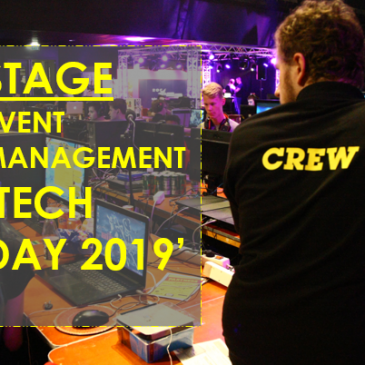 Stage event management 'Tech Day 2019'